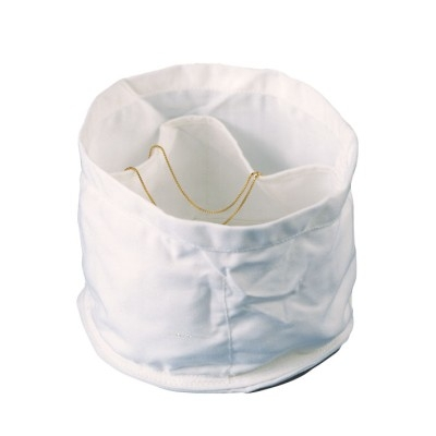 Perlonstoffeinsatz mit Taschen