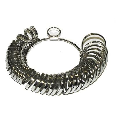 Ringmaß Metall vernickelt 3,5mm