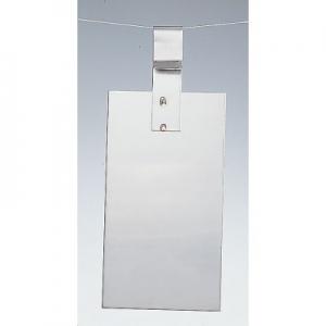 Edelstahlanode V2A 150 x 50 x 0,5 mm