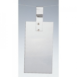 Edelstahlanode V2A 190 x 50 x 0,5 mm