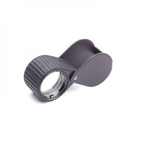 Steinlupen Ø 18 mm gummiarmiert schwarz