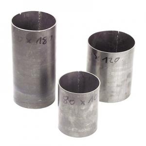 Küvetten (Gußformzylinder) aus Spezial-Stahl 2 mm