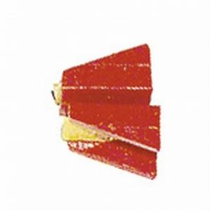 Ersatzkunststoffbacken, rot