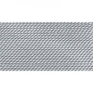 grau 100% Natur-Seide farbig mit 1 Nadel, Länge: 2m