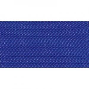dunkelblau 100% Natur-Seide farbig mit 1 Nadel, Länge: 2m