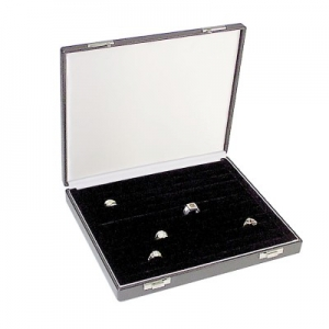 Ringvorlage-Etui mit 13 Ringwulsten