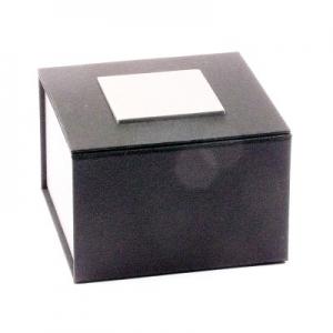 Universaletui Schwarz / Silber 85 x 85 x 55 mm