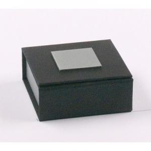 Universaletui, mittel Schwarz / Silber 60 x 60 x 22 mm