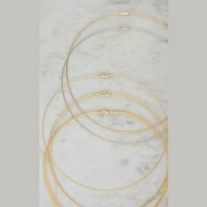 Collier mit Clipverschluss