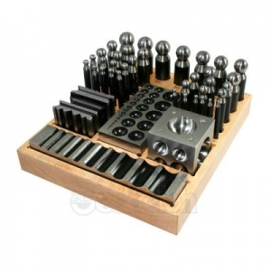 Dapping Punch and Die Set, 41 Parts Basic