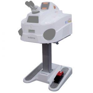 Table tripod electric for desktop laser LMD 150/180