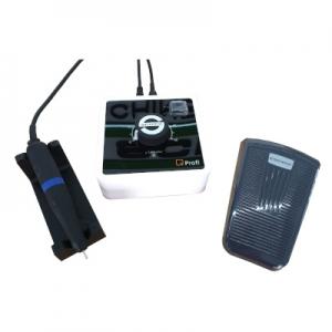Schick Mikromotor Q Profi Steuergerät (Tischversion) Set mit Q Basic Motorhandstück