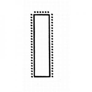 VALTITAN® - Flachstumpf, normale Form, Präzisionsfeilen